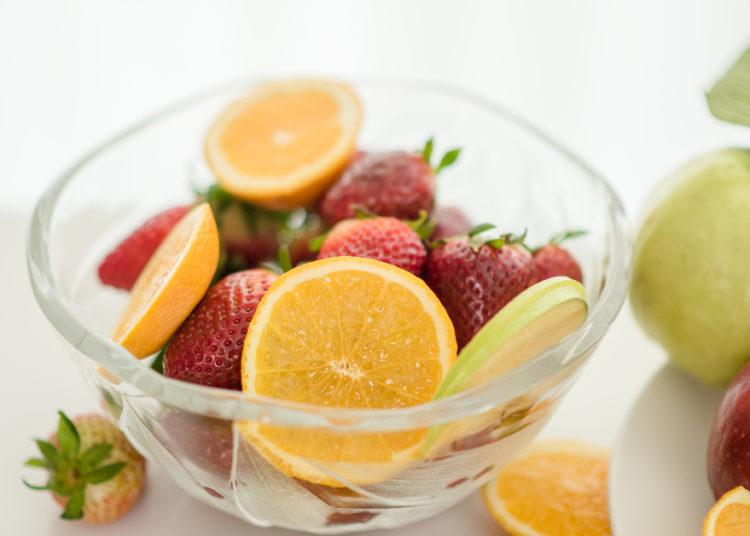 Frutas para el plan de comidas