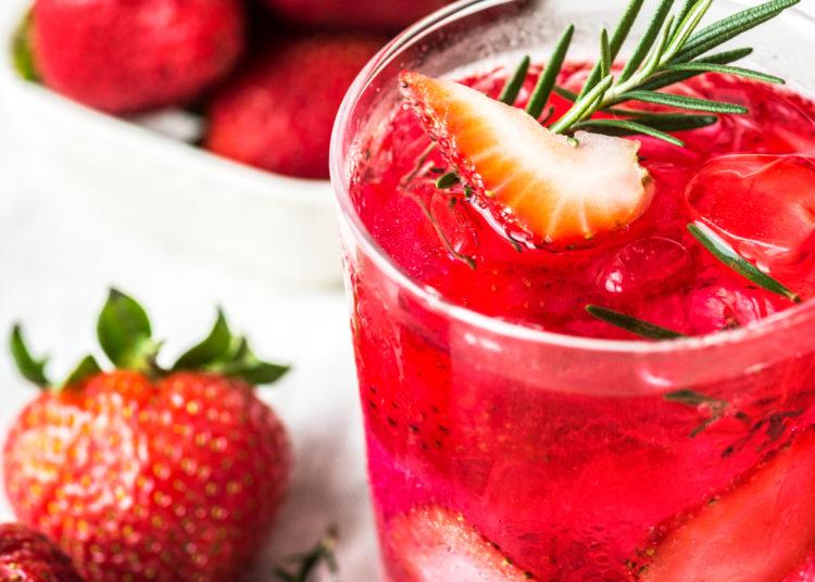 Aguas saborizadas con frutos