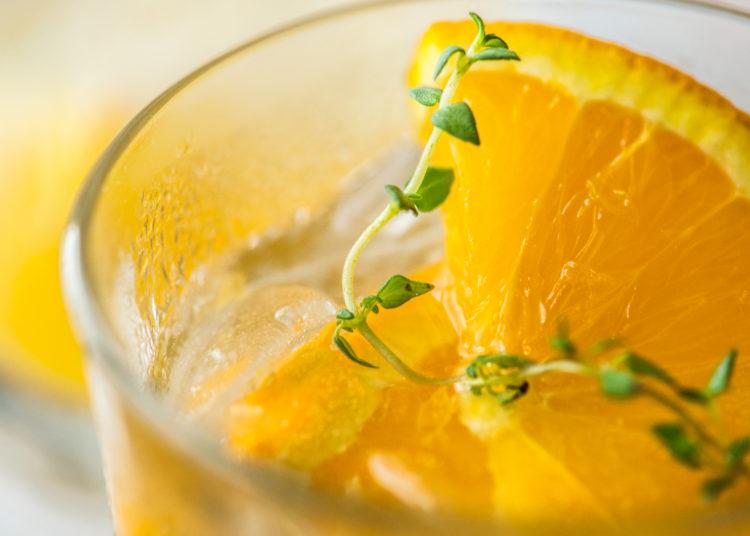 Mandarina y naranja