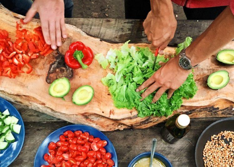 Ingredientes para el chop suey con pollo
