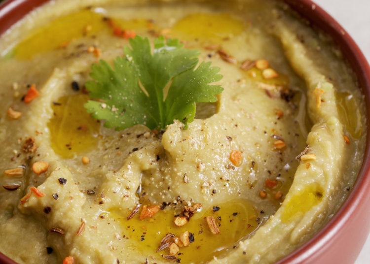 Hummus de arvejas
