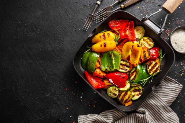 Disfruta de una deliciosa parrilla de vegetales: una receta saludable y nutritiva