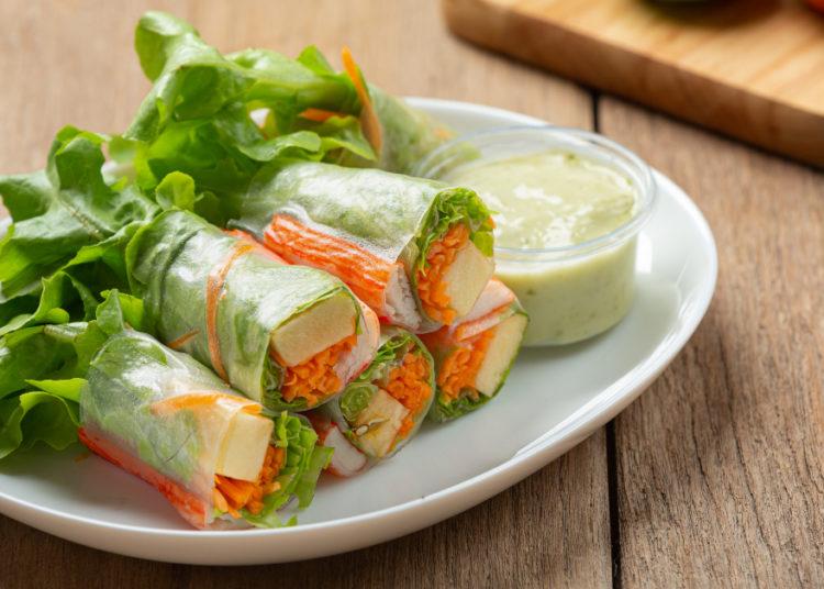 Sushi sin arroz