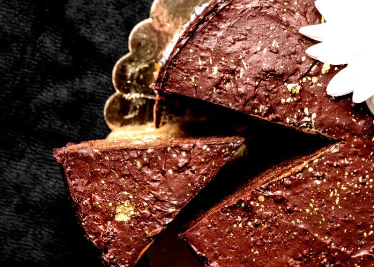 Pastel de chocolate con base de galletas