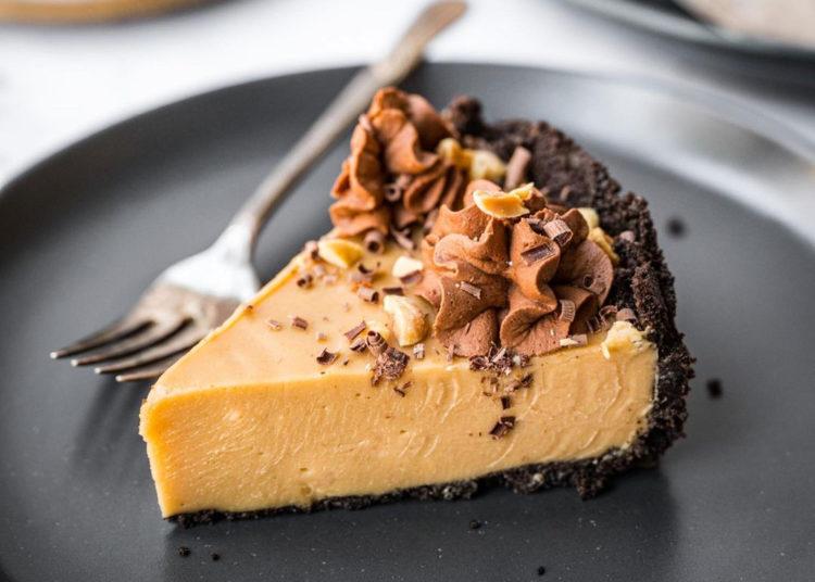 Cheesecake con mantequilla de maní