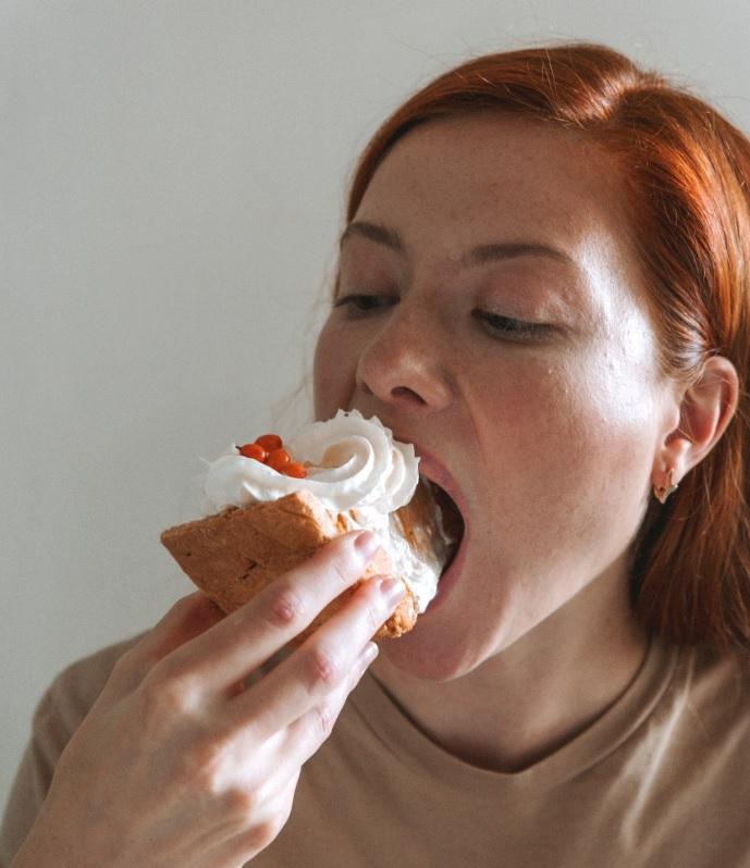 Alimentación flexible: degusta 1 o 2 postres a la semana
