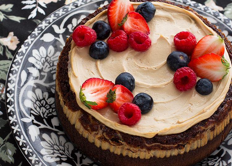 Brownie cheesecake: prueba esta combinación hecha con ingredientes sencillos