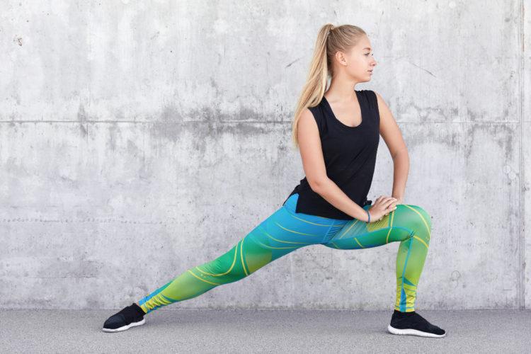 Recuerda estirarte antes del entrenamiento para evitar lesiones