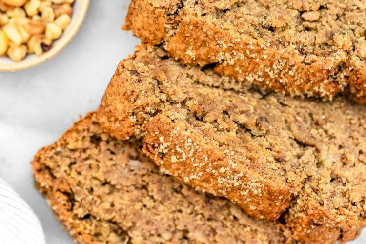 Pan de plátano con nueces y canela para el desayuno: consúmelo entre 5 a 7 días